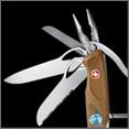 Купить дешево складной перочинный швейцарский нож Wenger New Ranger 1.77.61 (120mm, серый); низкая цена, Москва, доставка