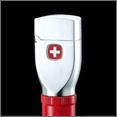 Купить дешево зажигалку Wenger WL3-3004 бензиновая, никель-сатин черный; низкая цена, Москва, доставка