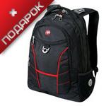 Рюкзак Wenger 1178215 Rad для ноутбука черный/красный 35x20x43cm (30л)